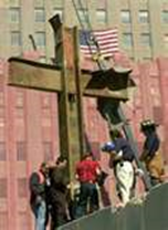 9.11 memorial cross saved